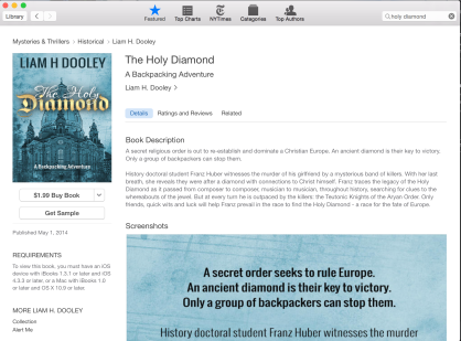 iBook screenshot 2