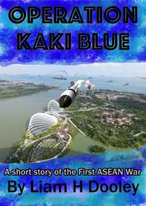 Cover Operation Kaki Blue