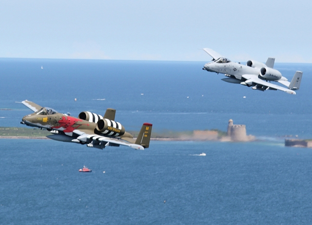 107th Fighter Squadron Returns to Normandy